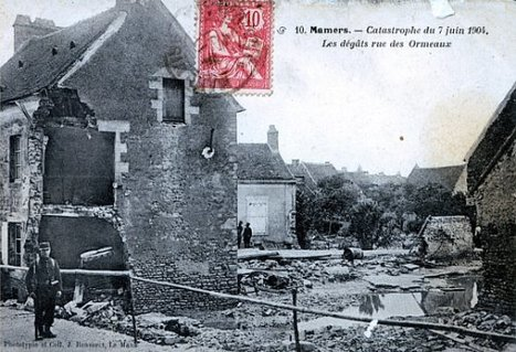La catastrophe de Mamers - 7 Juin 1904 | GenealoNet | Scoop.it