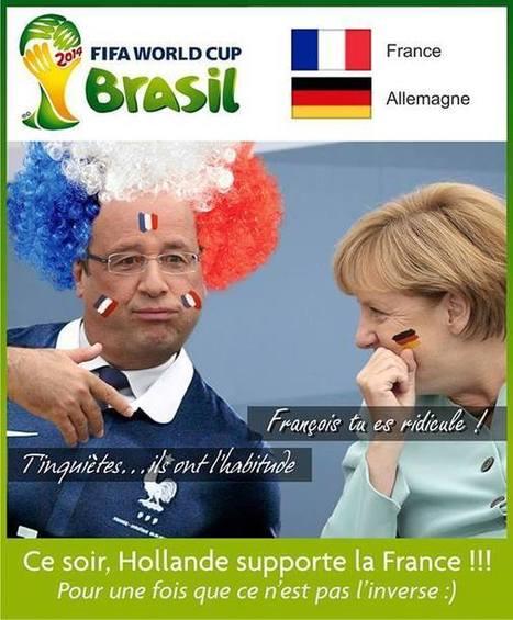 France - Allemagne, une grande rencontre !   Humour et pub détounée   Scoop.it