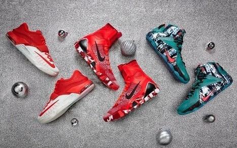 LeBron, Kobe y Durant presentan sus zapatillas del día de Navidad - La Jugada Financiera   Seo, Social Media Marketing   Scoop.it
