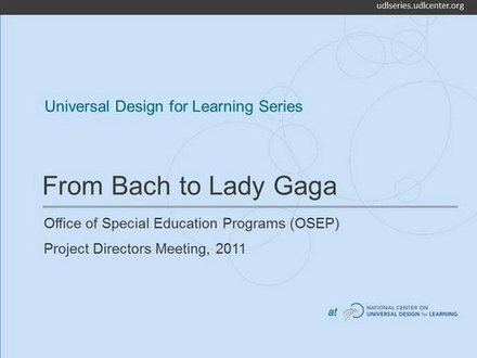 From Bach to Lady Gaga: Music Lessons for Special Education | UDL & ICT in education | Scoop.it