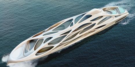 Le Superyacht Futuriste Design Zaha Hadid est étrange et renversant [PHOTOS] | Projets d'architecture et d'urbanisme en Afrique | Scoop.it