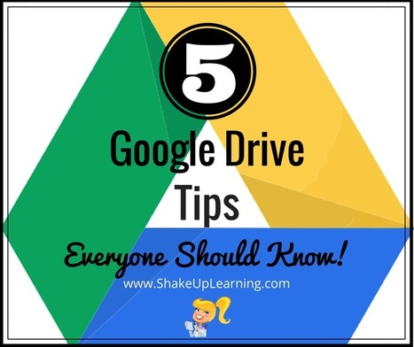 5 Google Drive Tips Everyone Should Know   Keeping up with Ed Tech   Scoop.it