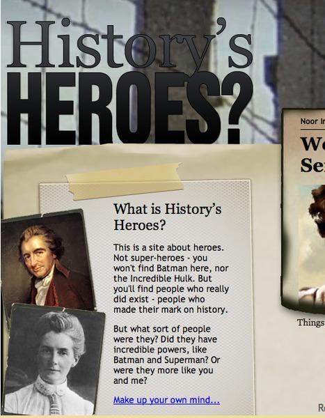 Interactive History - LiveBinder | K-12 Web Resources - History & Social Studies | Scoop.it