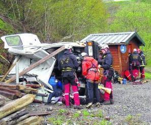 Saint-Lary. 19 victimes dans le bus tombé dans le ravin (exercice de secours) | Vallée d'Aure - Pyrénées | Scoop.it