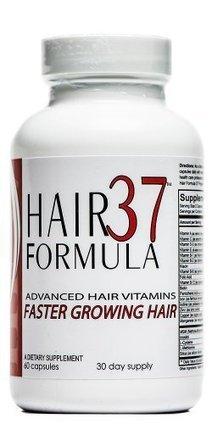 Best Hair Growth Vitamins Hair Formula 37 Hair Vitamins for Faster Growing Healthy Hair 1 month Supply 60 Capsules - HairCareGirls.com | Healthy Hair Tips | Scoop.it