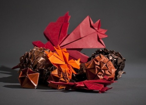 MIT Geeks Create an Origami Thanksgiving | Wired Design | The Blog's Revue by OlivierSC | Scoop.it