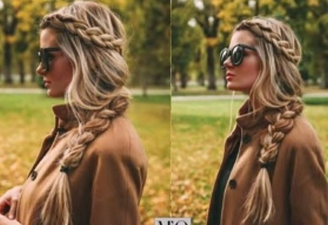 Everyday Headband Braided Hairstyle For Girls - Latest Fashion Trends | Style Den | Scoop.it