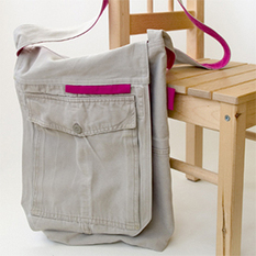 Recycle Cargo Pants to a Messenger | recycle | Scoop.it