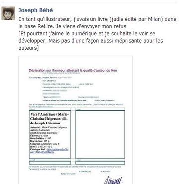 Relire : le scandaleux pillage du droit d'auteur organisé par la loi | La base ReLIRE de la BNF | Scoop.it