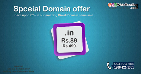 "Special Domain Offer: Register "".info"" Domain Just Rs.89 