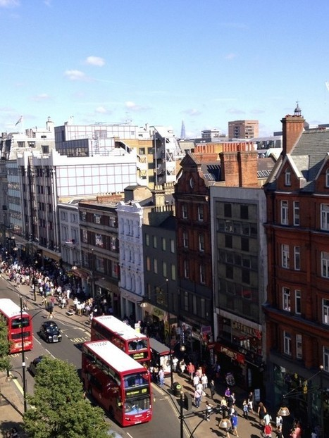 Oxford Street, London - Information, Travel Guide | Travel Tips | Scoop.it