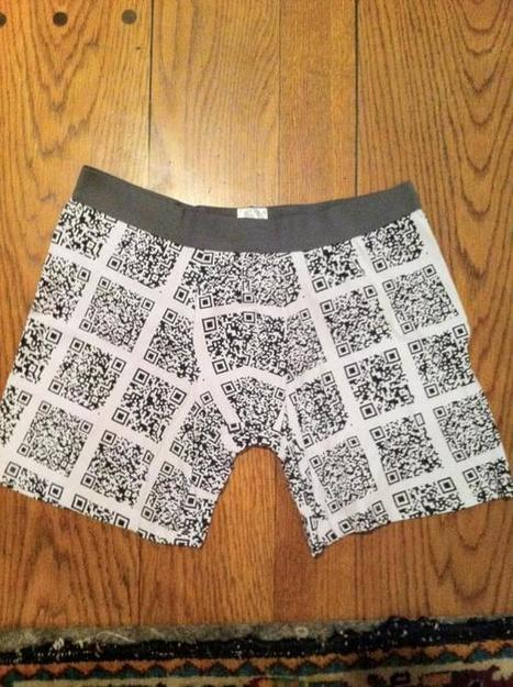 caleçon QRcode : why not ? | QRdressCode | Scoop.it