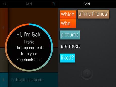 Gabi, une autre manière d'explorer Facebook | Time to Learn | Scoop.it