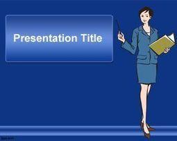 Plantilla PowerPoint de Secretaria   Plantillas PowerPoint Gratis   Plantilas PowerPoint   Scoop.it