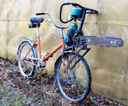 Insane Russian Attack Bike is Powered by Chainsaw | Inhabitat - Green Design Will Save the World | Local Economy in Action | Scoop.it