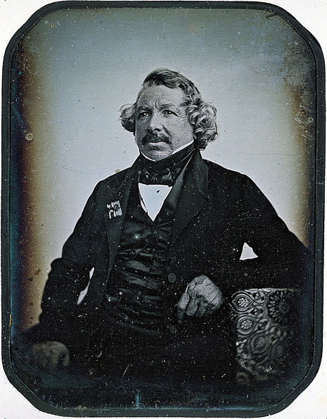 Louis Daguerre: Pictures Illuminate Google's Man of the Day   Visual*~*Revolution   Scoop.it