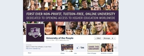 University of the People now has more than 1 million Facebook Fans | The digital tipping point | Scoop.it