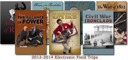2013-2014 Electronic Field Trip Schedule : The Colonial Williamsburg Official History & Citizenship Site   Sheila's Edtech   Scoop.it