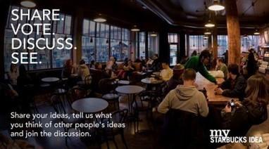 Le crowdsourcing d'idées, la nouvelle révolution B2C - Webmarketing & co'm | Bonnes pratiques participatives & collaboratives | Scoop.it