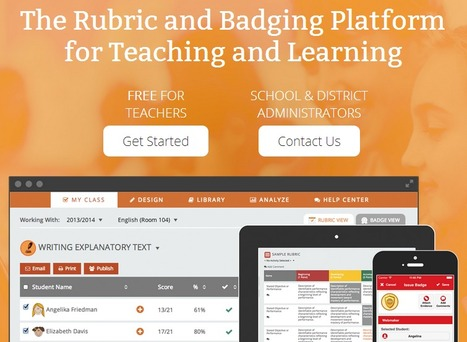 ForAllRubrics - The Rubric & Badging Platform | MeeMetICT | Media, Technologie, Apps en Tools in het Onderwijs | Scoop.it