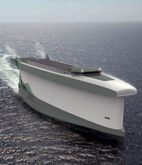 Vindskip : un navire écologique | Systèmes énergétiques du futur | Scoop.it