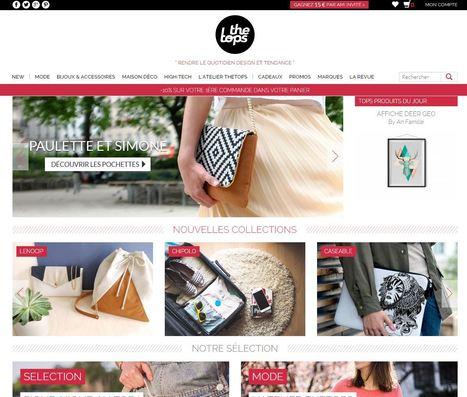 TheTops.fr, une place de marché lifestyle destinée aux 20/35 ans | e-commerce  - vers le shopping web 3.0 | Scoop.it