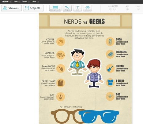 Three Simple Infographic Builders - 'Net Features - Website Magazine | Keep Up With The Web | Scoop.it