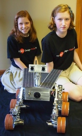 Mars Rover that Two Girls Built in Garage - Hacked Gadgets – DIY Tech Blog | Arduino, Netduino, Rasperry Pi! | Scoop.it