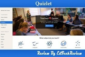 Quizlet - Free Learning Tools for Students and Teachers - EdTechReview | Ingleborough PS Technology Hub | Scoop.it