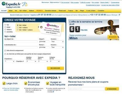 Expedia.fr s'associe à Maximiles | RelationClients | Scoop.it