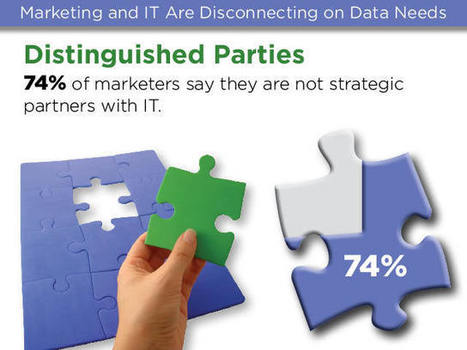 Marketing and IT Are Disconnecting on Data Needs | digitalassetman | Scoop.it