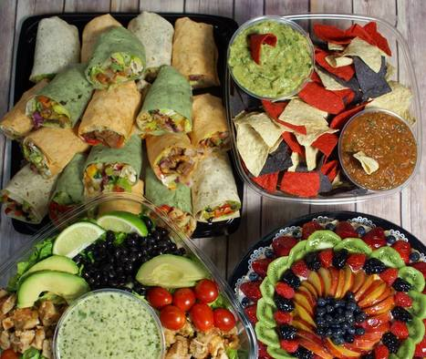 Fiesta Combo Party Platter | Ingallina's Box Lunch Seattle | Party Platters | Scoop.it