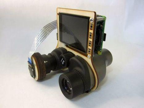 PiNoculars - Raspberry Pi Binoculars | Raspberry Pi | Scoop.it