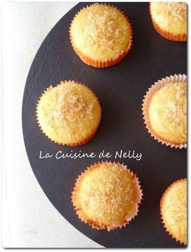 Cupcake Coco-Citron Vert - LA CUISINE DE NELLY | Cupcakes en France | Scoop.it