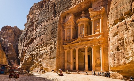 Jordan is full of ancient wonders but nothing can beat Petra's beauty - Daily Mail | Archeology | Scoop.it