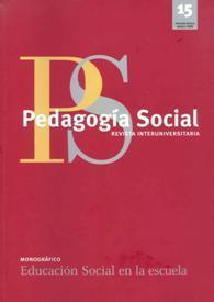 núm. 15 (2008) | (Todo) Pedagogía y Educación Social | Scoop.it