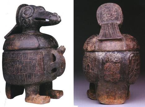 An Early Classic Bird Vase | Ecriture Maya | Scoop.it