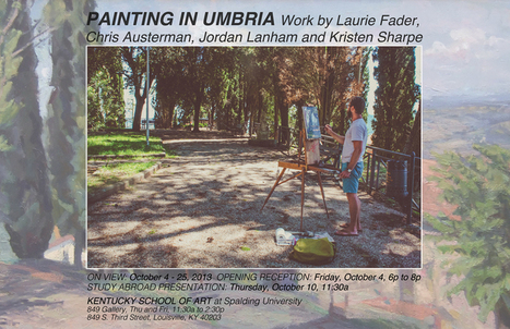 Painting in Umbria | Kentucky School of Art | Italia Mia | Scoop.it
