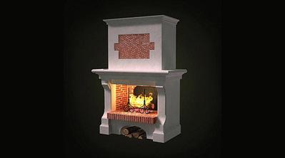 Modèle 3D cheminée   3D Library   Scoop.it