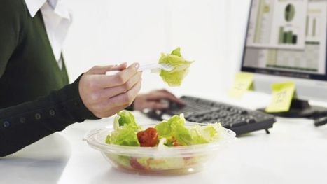 Chained to your desk? 5 ways to stay healthy at work   Good Health   Scoop.it