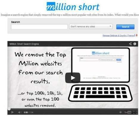 Supprimer le 1er million de résultats d'une recherche sur le Web, Million Short | Les Infos de Ballajack | Au fil du Web | Scoop.it
