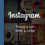 Brands On Instagram Doing A Lot With A Little | Social Media Creativity | Activities | Scoop.it