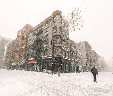 Record-Breaking Blizzard Transformed NYC into a Tranquil Winter Wonderland | Le It e Amo ✪ | Scoop.it