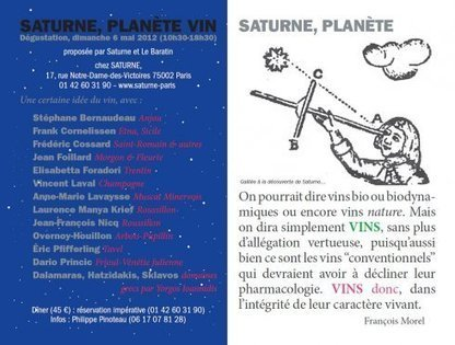 Saturne | vin naturel | Scoop.it