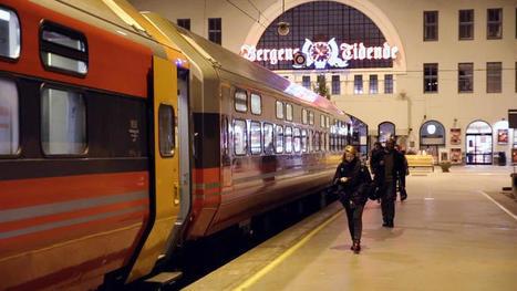Des trains pas comme les autres : numéro inédit en #Norvège le 6 août. #Oslo #Bergen - #France5 | Hurtigruten Arctique Antarctique | Scoop.it
