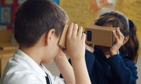 Iniciarse en la realidad virtual en educación con unas gafas de cartón - Educación 3.0 | Re-Ingeniería de Aprendizajes | Scoop.it