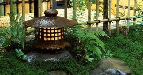 Japanese Iron lanterns. | Japanese Gardens | Scoop.it