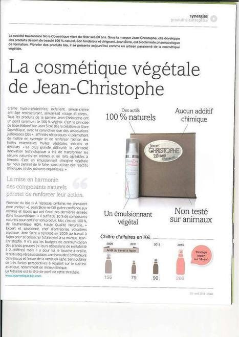 Jean-Christophe HQN | HQN Cosmétiques - Jean Christophe | Scoop.it