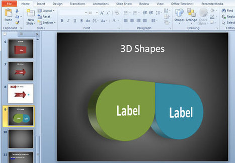 3D Shapes in PowerPoint | PowerPoint Stategies | Scoop.it