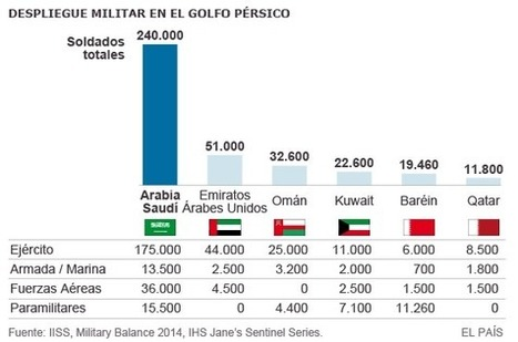 Las monarquías del Golfo crean una fuerza naval conjunta | Maritime piracy | Scoop.it